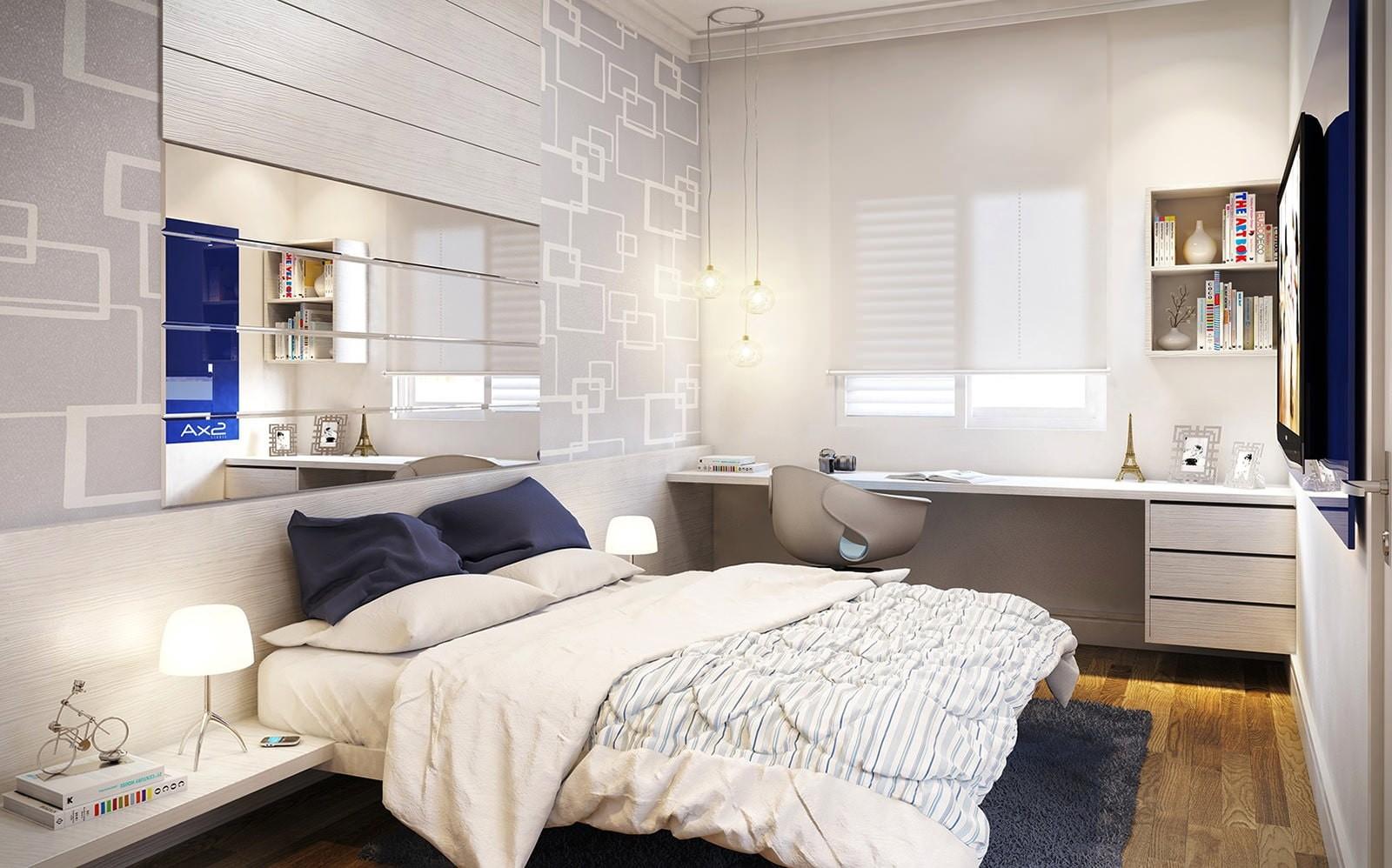дизайн спальни для девушки современный