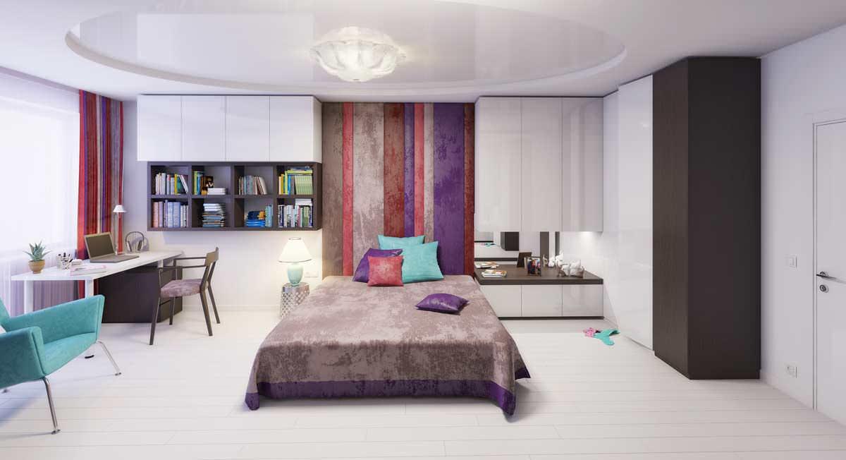 дизайн спальни для женщины