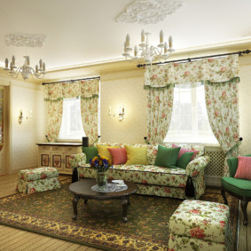 дизайн стен в гостиной комнате идеи
