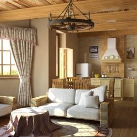 дизайн стен в гостиной комнате идеи фото