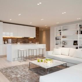дизайн трехкомнатной квартиры идеи декора