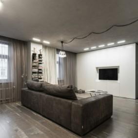 дизайн трехкомнатной квартиры фото интерьер