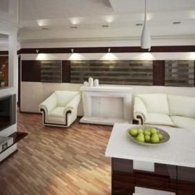 дизайн трехкомнатной квартиры идеи интерьер