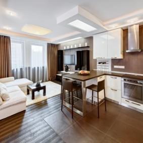 дизайн трехкомнатной квартиры идеи интерьера