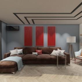 дизайн трехкомнатной квартиры оформление