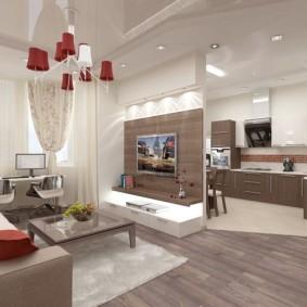 дизайн трехкомнатной квартиры оформление фото