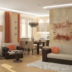 дизайн трехкомнатной квартиры фото оформление