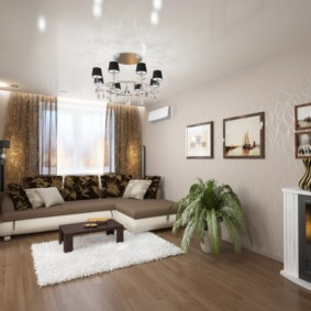дизайн трехкомнатной квартиры оформление идеи