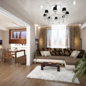 дизайн трехкомнатной квартиры идеи оформления