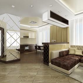 дизайн трехкомнатной квартиры идеи вариантов