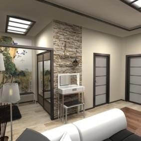 дизайн трехкомнатной квартиры виды идеи