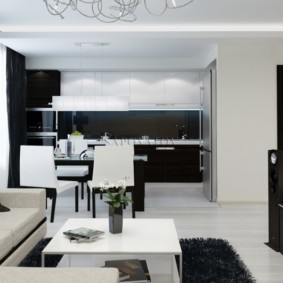 дизайн трехкомнатной квартиры идеи виды
