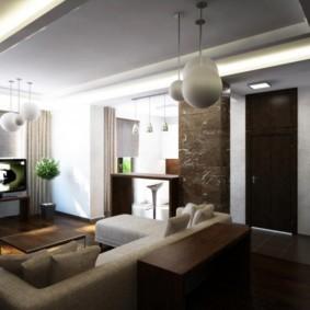дизайн трехкомнатной квартиры обзор