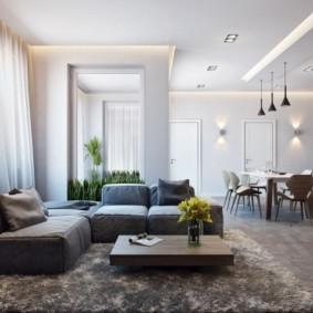 дизайн трехкомнатной квартиры обзор фото