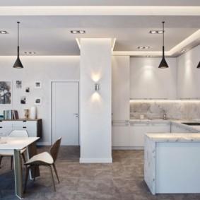 дизайн трехкомнатной квартиры фото обзор