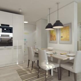 дизайн трехкомнатной квартиры виды декора