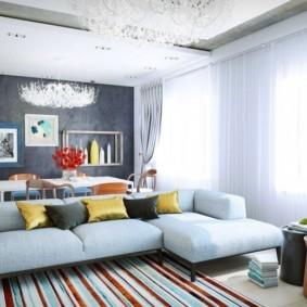 дизайн трехкомнатной квартиры виды оформления