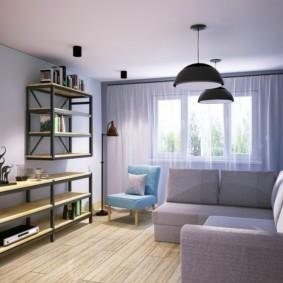 дизайн трехкомнатной квартиры фото декор