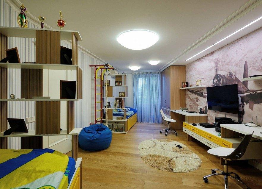 дизайн трехкомнатной квартиры интерьер идеи