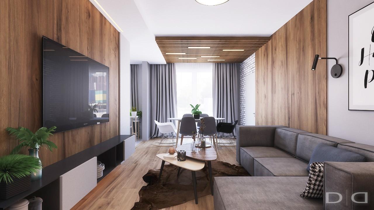 дизайн трехкомнатной квартиры ламинат