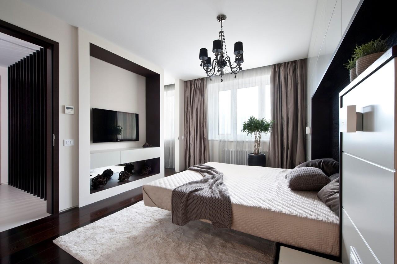 дизайн трехкомнатной квартиры модерн