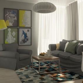 дизайн малогабаритной квартиры варианты