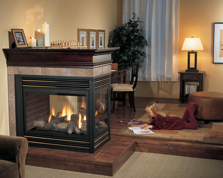 дровяной камин в квартире