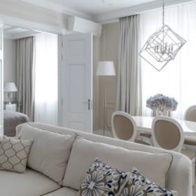 Классическая мебель светлого цвета