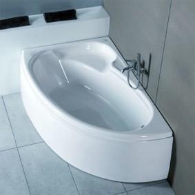 Малогабаритная чаша чугунной ванны