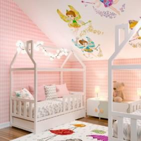 Красивые кроватки для деток дошкольного возраста