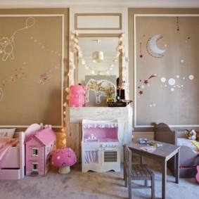 Декор своими руками детской комнаты