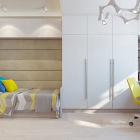 Стильная детская комната в светлых тонах