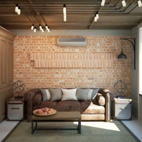 Лофт в интерьере современной квартиры