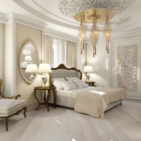 Спальное помещение в стиле классика