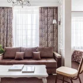 Пестрый текстиль в интерьере квартиры