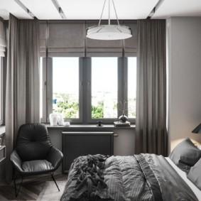Оттенки серого цвета в интерьере квартиры