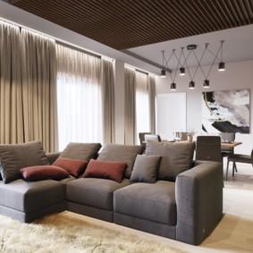 Раскладной диван угловой планировки