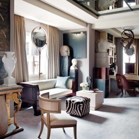 Декор гостиной в современном доме