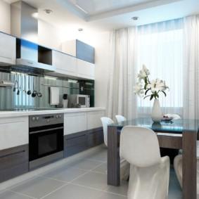 Кухонные стулья белого цвета