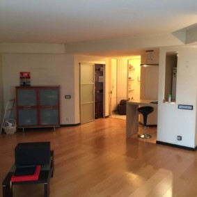 Однокомнатная квартира площадью в 50 квадратов