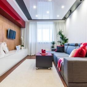 Современная мебель в гостиной квартиры