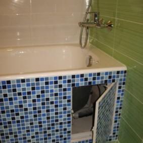 Потайной люк в ванной комнате