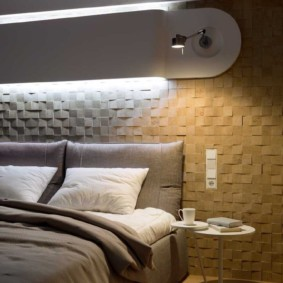 Светодиодная подсветка изголовья кровати