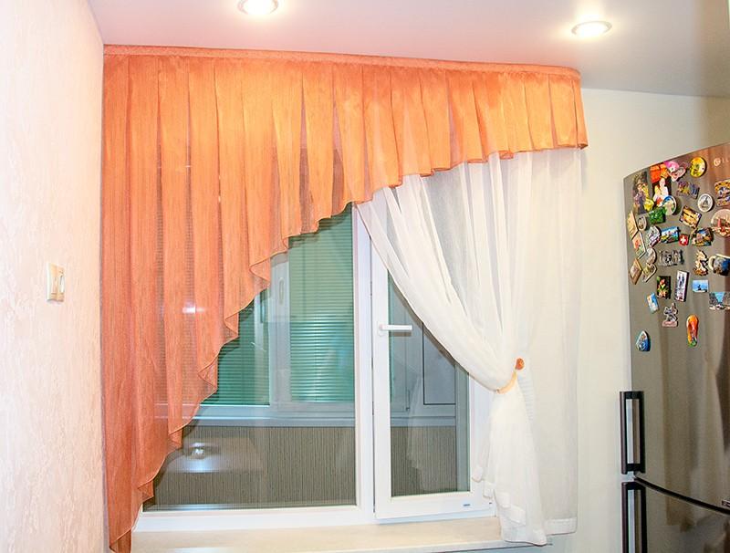 важных шторы для кухни на одну сторону фото только садишься