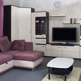Раскладной диван углового типа