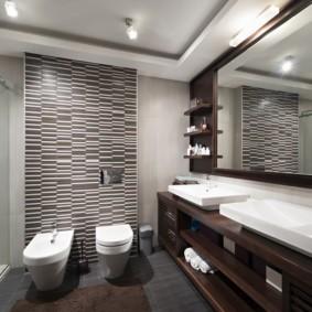 Биде в интерьере ванной комнаты