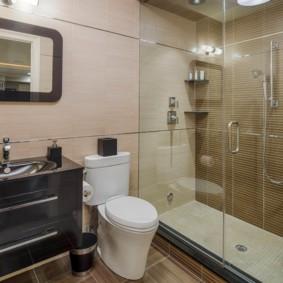 Душевая кабина вместо громоздкой ванны