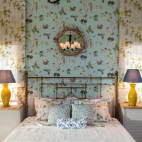 Спальня в стиле французского прованса