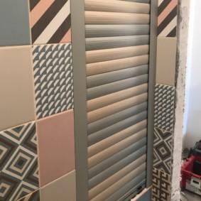 Керамическая плитка с разным рисунком