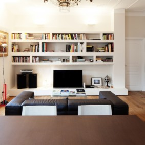 гостиная в современном стиле идеи дизайн